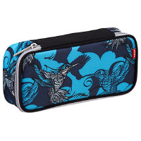 4YOU 4 You Basic Collection Pencil Case mit Geodreieck 23 cm - kolibri