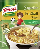 Knorr Suppenliebe Fußball Suppe Beutel, 13er Pack (13 x 54 g) (8712100914249)