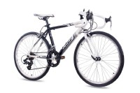 KCP 24 Zoll Rennrad Jugendrad KCP RUNNY 14G weiss schwarz 2016