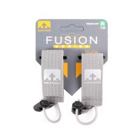Nathan Fusion Series Race Number Clips Medium Grey