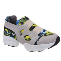 Trendy Women's Athletic Shoes With Color Block and Suede Design