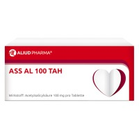 ALIUD Pharma GmbH ASS AL 100 TAH Tabletten, 50 St