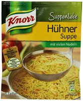 Knorr Suppenliebe Hühner-Suppe mit Nudel, 5er Pack (5 x 1.217 l) (770294)