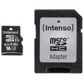 Intenso Micro SD UHS-I Professional, 16 GB fuer Acer Aspire Switch 10 V, Iconia One 10 (B3-A20B), Iconia Tab A101, Iconia Tab A200, Iconia Tab A210, Iconia Tab A500, Iconia Tab A511, Iconia Tab A701, Iconia Tab W500, Iconia Tab W501P, Iconia Tab W511P,