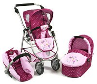 Bayer Chic 637 29 - 3 in 1 Kombi Emotion All In, Dots Brombeere, lila/rosa (637 29)