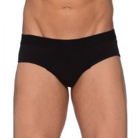 Bread&Boxers Slip Brief, schwarz