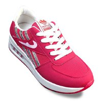 Causal Women's Athletic Shoes With Splicing and Striped Design
