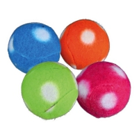 TRIXIE Rasselball aus Fleece - 4 cm (122782)