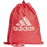 ADIDAS PERFORMANCE Logo Gymbag Turnbeutel - real coral/real coral/trace pink