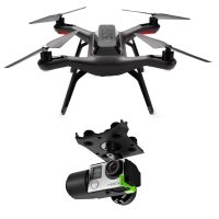 3DR 3D Robotics Solo Aerial Drone Komplettset [incl. dem 3DR Solo Axis Action Gimbal (GB11A) für GoPro Hero 3, 3+ und 4]