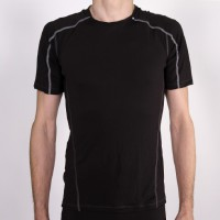 Salomon LightWeight Short Sleeve Tee Herren Black