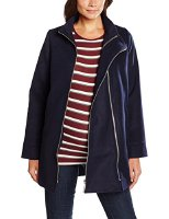 bellybutton Maternity Damen Umstandsmantel Mantel 1/1 Arm, Blau (Peacoat|Blue 3470), 34 (1696059-3470)