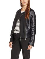 bellybutton Maternity Damen Jacke 1/1 Arm, Schwarz (Stretch Limo|Black 1390), 40 (1696159-1390)