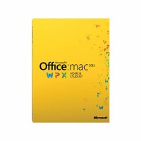 Microsoft Office für Mac 2011 Home&Student medialess (Product Key Card) // NEU