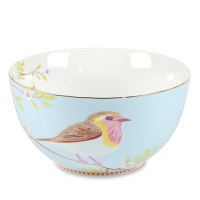 PIP STUDIO PiP Porzellan Müslischale Early Bird 15 cm Blau
