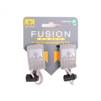 Nathan Fusion Series Race Number Clips Small Grey