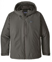 Patagonia Windsweep Down Hoody Jacket Men - Wasserdichte Winterjacke mit Daunenfüllung - forge grey - Gr.L