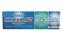 Oral-B blend-a-med Pro-Expert Zahncreme Complete Protect EXPERT Tiefenreinigung* Fluorid-Zahnpasta, 75 ml (976225)