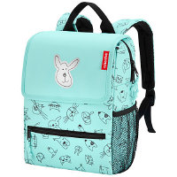 Reisenthel Kids Backpack Rucksack 28 cm - cats and dogs mint