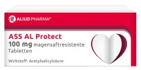 ALIUD Pharma GmbH ASS AL Protect 100 mg magensaftresistente Tabletten, 100 St