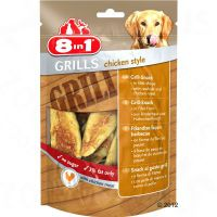 8in1 Delights Grills Chicken - 3 x 80 g