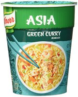 Knorr Asia Snack Green Curry Noodles 1 Portion, 65 g (8710447914106)