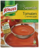Knorr Suppenliebe Tomatencreme Suppe, 9 x 3 Teller (9 x 62 g) (8712566989539)