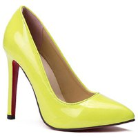 Graceful Women's Pumps With Solid Colour and Pointed Toe Design