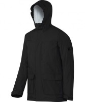 Mammut Trovat Advanced SO Hooded Jacket Men - Warme Winterjacke - graphite - Gr.S