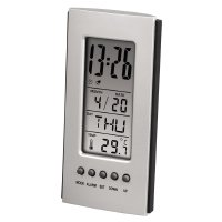 Hama LCD Thermometer (Silber)