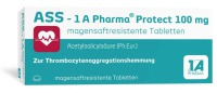1 A Pharma GmbH ASS 1 A Pharma Protect 100 mg magensaftresistente Tabletten, 50 St