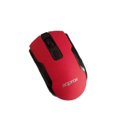 Approx Wireless Optical Mouse Red (APPWMOFFICER)
