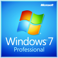 Microsoft Windows 7 Professional, DVD, OEM, 64bit, DE (FQC-00769)