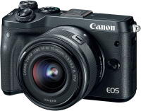 Canon EOS M6 + EF-M 15-45mm 3.5-6.3 IS STM (1724C012)