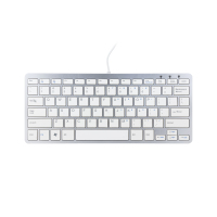 R-Go Tools Compact-Tastatur QWERTY (RGOECQYW)