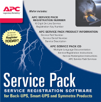 APC Service Pack 3 Year Extended Warranty (WBEXTWAR3YR-SP-06)