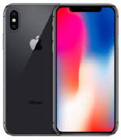 Apple iPhone X 64GB, Spacegrau (MQAC2ZD/A)