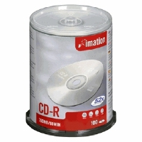 Imation CD-R 52x 700MB (100) (73000006210)