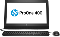 HP 400 ProOne 400 G3 All-in-One-PC mit 20 Zoll Diagonale, ohne Touch-Funktion (2KM01EA)
