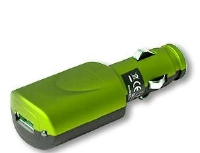 ifrogz Luxe Car Charger Green (CHARGERCAR-LUX-GREEN)