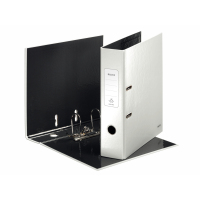 Leitz 180° WOW Lever Arch File - pearl white (10050001)