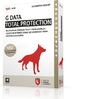 G DATA Total Protection, 4PC, 1 Year, ESD (2071917)