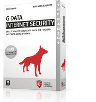 G DATA Internet Security, 2PC, 1 Year, ESD (2071913)