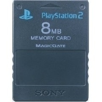 Sony Playstation 2 - Memory Card 8MB Black (91023 04)