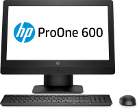HP 600 ProOne 600 G3 All-in-One-PC mit 21,5 Zoll Diagonale, ohne Touch-Funktion (2KR72EA)