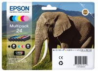 Epson Elephant Multipack 6-colours 24 Claria Photo HD Ink (C13T24284011)