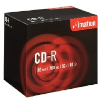 Imation CD-R 52x 700MB (10) (73000006160)