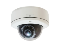 LevelOne Fixed Dome Network Camera, 5-Megapixel, Outdoor, PoE 802.3af, Day & Night, IR LEDs, WDR (FCS-3083)