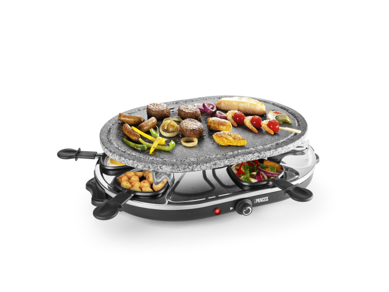 Princess 8 Oval Stone Grill Party (01.162720.01.001)