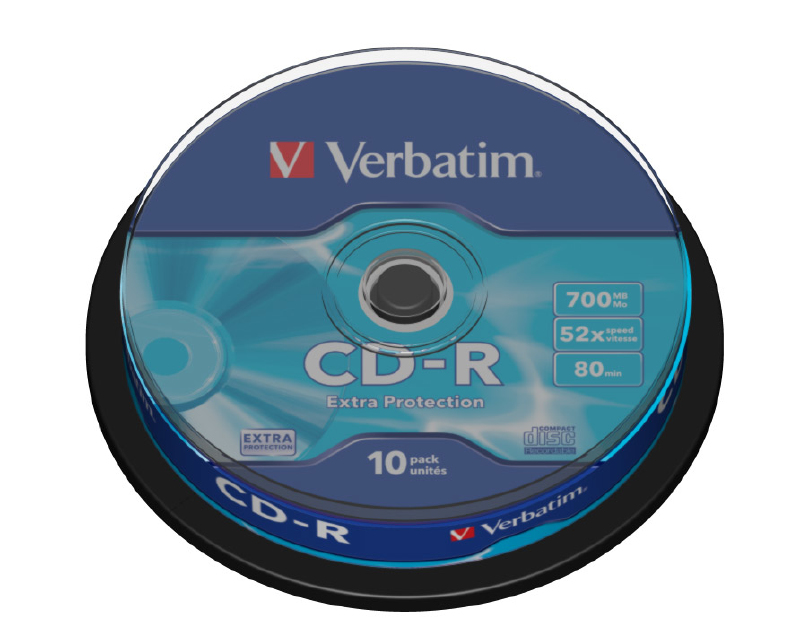 Verbatim CD-R Extra Protection (43437)